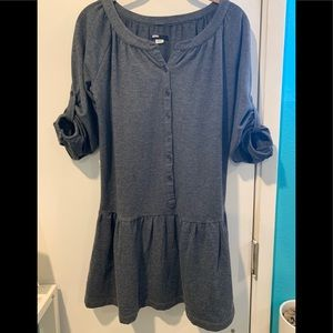 BDG gray dress sweatshirt fabric